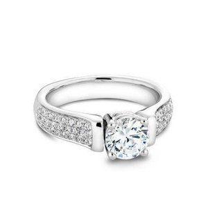 Jewelry - 4.70 ct sparkling round cut diamonds engagement